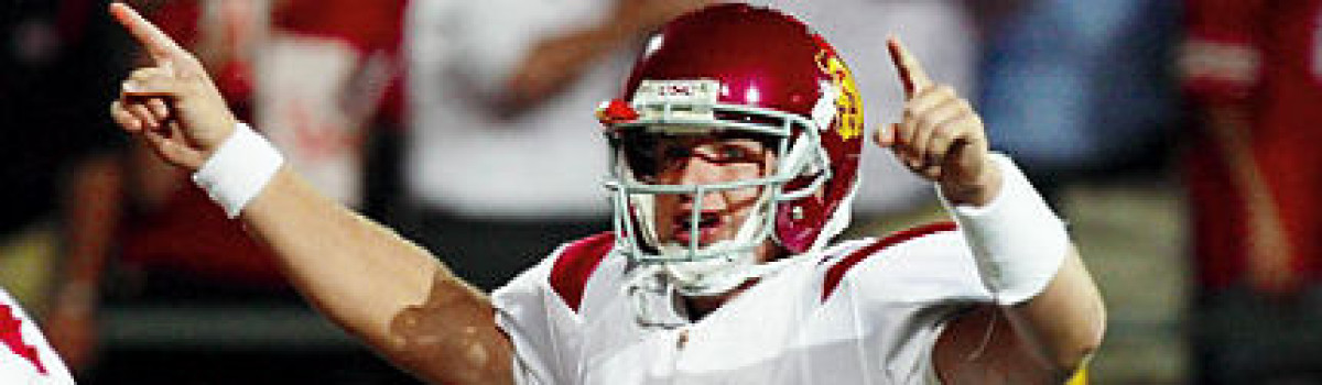 GRIDIRON ALUMNI FOOTBALL NCAA PLAYER OF THE WEEK: MATT BARKLEY THE HEISMAN FRONTRUNNNER?