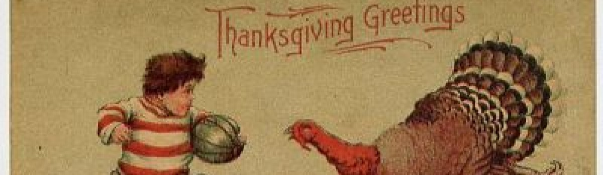 HAPPY THANKSGIVING FROM GRIDIRON ALUMNI