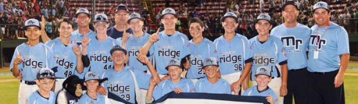 Gridiron Alumni Takes on Little League World Series